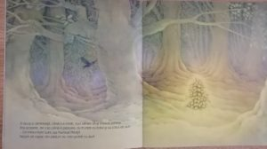 bradutul cu zapada carte de craciun pentru copii
