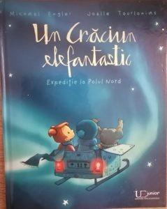 carte de craciun pentru copii expeditie la polul nord