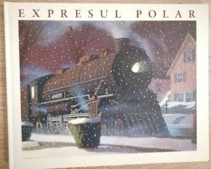 polar express carte de craciun pentru copii