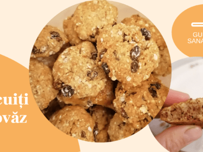 Rețetă biscuiți cu ovăz
