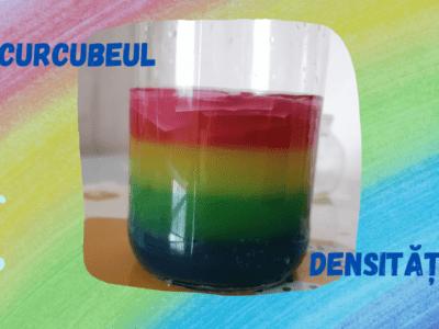 Curcubeul densității. Experimentăm densitatea fără a folosi ulei. Activitate STEM